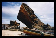 Beira - Moçambique, ship wrecks