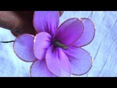 Aus Alten Strumpfhosen Schöne Blumen Basteln - DIY Crafts - Guidecentral - YouTube
