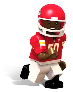 Kansas City Chiefs NFL OYO Minifigure Justin Houston