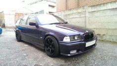BMW E36 323i Touring black