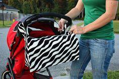 2-in-1 Bag: Stroller Bag into a Messenger Bag | Make It and Love It