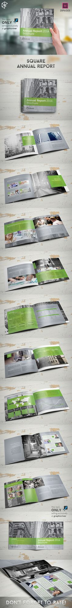 Annual Report design for an all-girl school Education Marketing - business annual report template