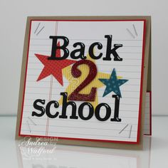Back To School Gift Card Holder