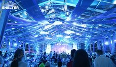 SHELTER 1350sqm Wedding Tent Holding 900 Participants