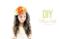 #DIY Spring Floral Sash from @JoJo&Eloise   Great idea for a spring headband   Supplies available at Joann.com or your local Jo-Ann Fabric and Craft Store   #craftmonthlove