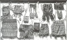 15th Century Purse | Aumônières, otherwise known as alms purses
