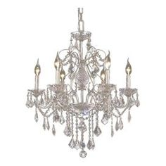 Paula 6 Light Chandelier