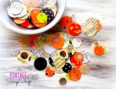 Feature Friday – Spooky Halloween Confetti Mix | Vintage Scrap Shop