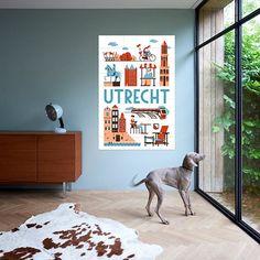 Combo Design is officieel dealer van IXXI ✓ Utrecht Jochem Coenen I ✓ Gratis verzending (NL) Utrecht, Gallery Wall, Frame, Animals, Design, Home Decor, Picture Frame, Animales, Decoration Home