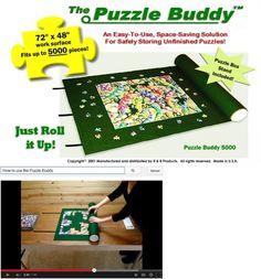 Storage Mats and Glue 180021: Puzzle Buddy 5000 Jigsaw Puzzle Mat, Large -> BUY IT NOW ONLY: $41.67 on eBay!