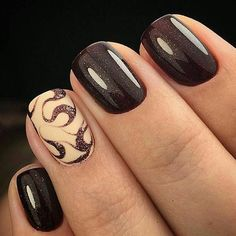 Decorated nail