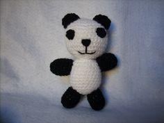 Panda amigurumi handmade
