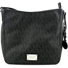 Michael Kors Jet Set Travel Messenger BLACK #MichaelKors #Messenger