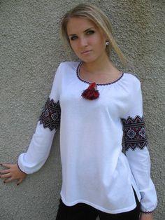 Ukraine, from Iryna. Sewing Clothes, Diy Clothes, Look Fashion, Womens Fashion, Fashion Design, Ukrainian Dress, Ukraine Women, Ethno Style, Mode Boho