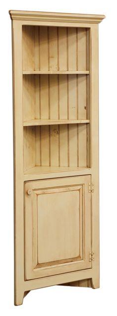 corner cabinets | ... Furniture Home > Dining Room > Curio Cabinets > 28 Inch Corner Cabinet
