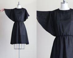 Royal Blue Collared Shirt Dress Plus Size Dress by myvintagecrush