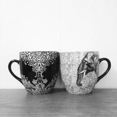 XL mugs from indiska