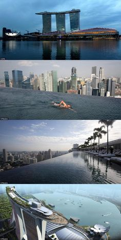 Marina Sands Singapore Hotel Pool