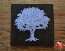Toomer's Corner Tree String Art - Tree Nail Art - Auburn University Toomer's Tree - Tree String Art - Nature Art