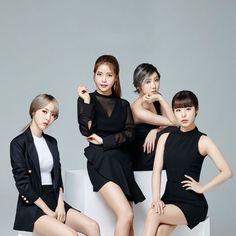 Moonbyul, Solar, Hwasa & WheeIn