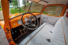 How about some pics of - Page 113 - The 1947 - Present Chevrolet & GMC Truck Message Board Network Automotive Upholstery, Car Upholstery, Chevy C10, Chevy Pickups, Chevrolet, Old Truck Photography, Truck Interior, Interior Ideas, Cool Truck Accessories