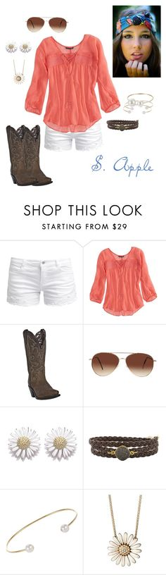 """""""A little of this, a little of that"""" by sapple324 ❤ liked on Polyvore featuring ONLY, American Eagle Outfitters, Dan Post, Eloquii, Daisy Jewellery, Alexandra Beth Designs and Finn"""