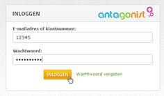 Wachtwoord vergeten voor Mijn Antagonist? Vraag eenvoudig zelf een nieuw wachtwoord aan via e-mail.