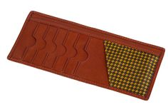 Men's Tanned-Vegetable Leather Breast Pocket Wallet ** Visit the image link more details.