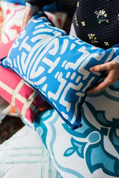 Lacefield Designs' Weather Friendly Pillows