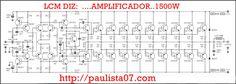 MEDIDAS DE LA PLACA REAL ETAPA DE POTENCIA 6.5cm x 15.5cm POTENCIAS DE 600W1200W CON 16 TRANSISTORES COMPLEMENTARIOS IMPEDANCIAS DE 8 Ohm2 Ohm SAIDA INTEGRADA DE ALIMENTACION ETAPA DE POTENCI…