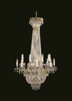 #Chambord #TimelessHeritageCatalogue #Chandelier #LightingDesign #CutCrystal #StandardTrimmings #AntiqueGoldPatina