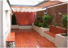 Porch And Terrace, Terrace Garden, Backyard Garden Design, Backyard Landscaping, Casa Patio, Ethnic Home Decor, House Plants Decor, Apartment Balconies, Backyard Playground