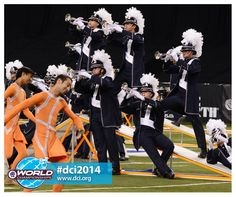 RT @DCI_Live: #dci2014 #semifinals @Bluecoats @DCI pic.twitter.com/0YwRUdz89T