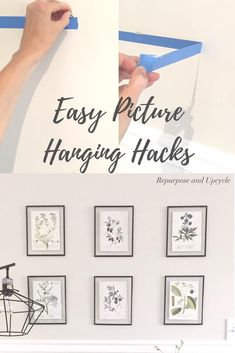 Easy Picture Hanging