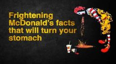 The Crazy Hidden TRUTH About McDonald's - YouTube. - McDonald is really the Evil Clown with the butcher knife!