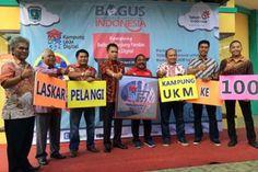Peresmian 10 Kampung UKM Digital di Cirebon