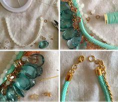DIY - Summer Statement Necklace
