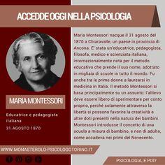 Very Interesting, Maria Montessori, Psychology Facts, Education, Studio, Sociology, Studios, Onderwijs, Learning
