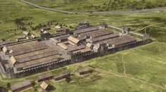 Vindolanda, a Roman auxiliary fort in Northumberland just south of Hadrian's Wall, is a huge motherlode of archaeological discoveries,