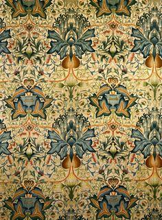pattern: the artichoke, William Morris, 1877 #uncommongoods #contest