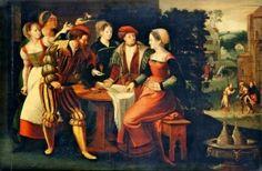 Prodigal Son - Dutch School 16th Century - Unknown - The Athenaeum