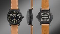 THE RUNWELL 41mm Tan Leather Watch   Shinola®