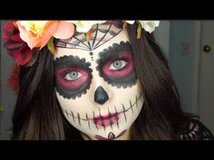 Sugar Skull Makeup Tutorial - YouTube