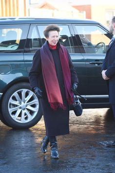 12/1/16*Princess Anne visiting Havebury Housing's Priors Avenue Development in Bury St Edmunds.