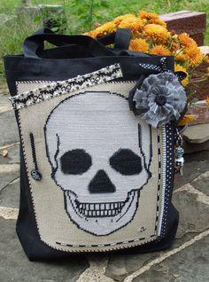 Free Sugar Skull Cross Stitch Pattern