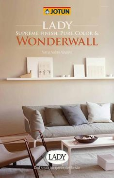 Jotun LADY - Det nye vakre fargekartet 2015 by Jotun Dekorativ AS - issuu Jotun Lady, Wonderwall, Aktiv, House Colors, Home And Living, Supreme, Pure Products, Inspiration, Home Decor
