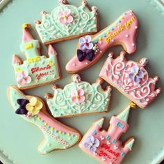 beautiful sugar cookies♡