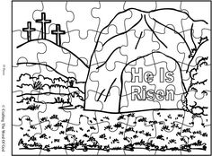 Holy Spirit Puzzle (Activity Sheet) Activity sheets are a