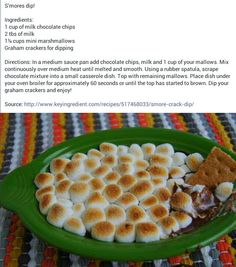 Smores Dip-- Bachelorette party!