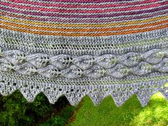 Ravelry: Henrietta Road Shawl by Laura Miller
